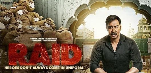 Raid Hindi Movie Reviews